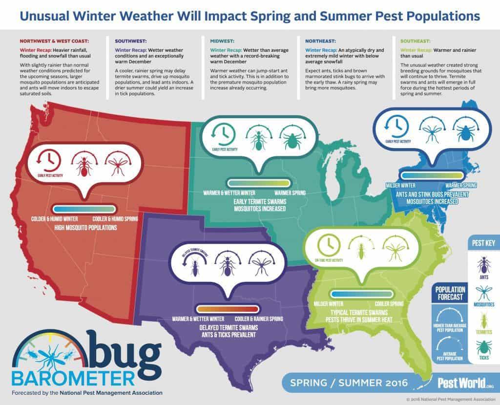 2016 Spring Bug Barometer