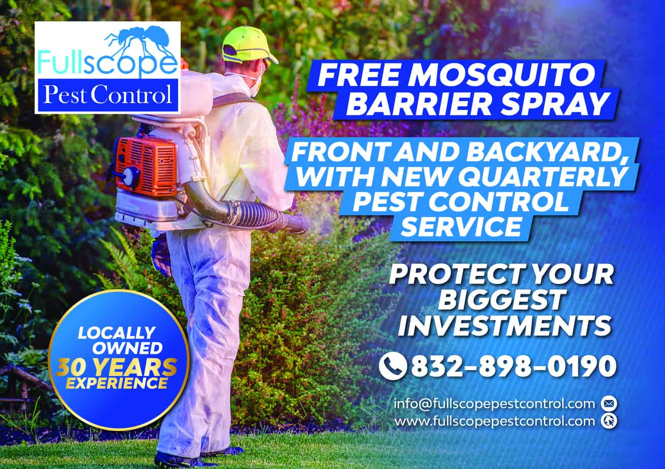 Mosquito Barrier Spraying