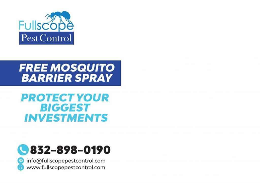 Free Mosquito Control