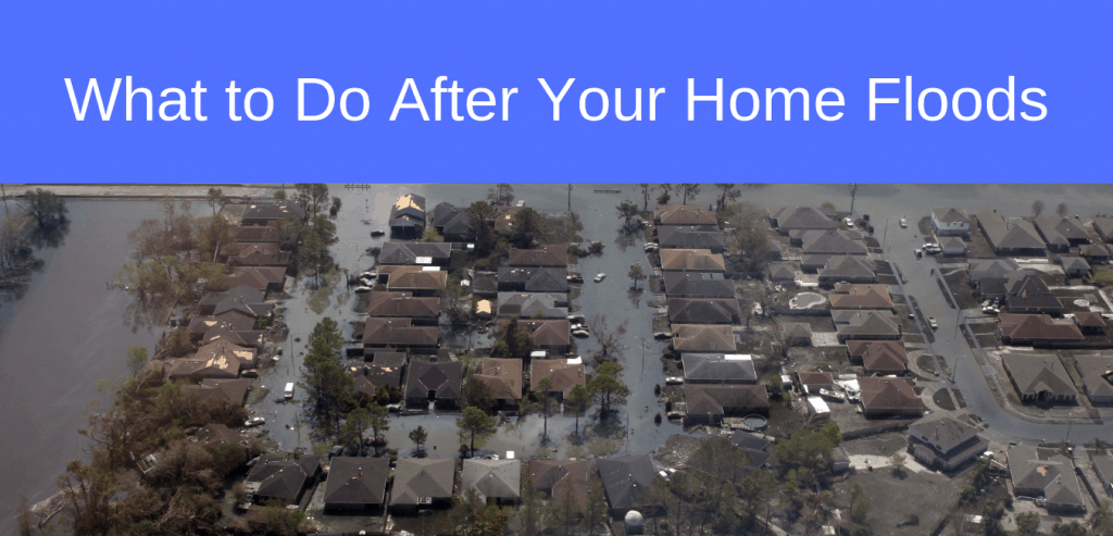 What to Do After Your Home Floods