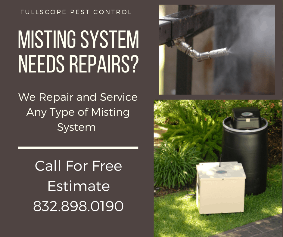 Mosquito Misting System Repairs