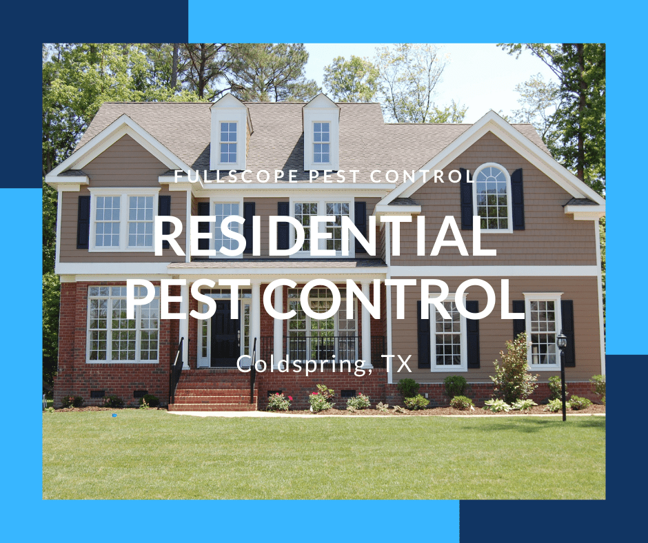 Residential Pest Control Coldspring TX